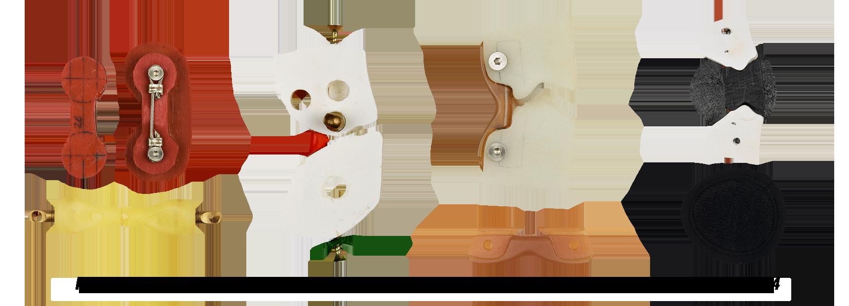 POD Active Knee Braces - Early Hinge Prototypes